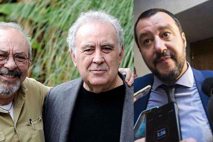 La lettera di Vauro e Santoro alle più alte cariche dello Stato: 'C'è un giudice per Salvini?'