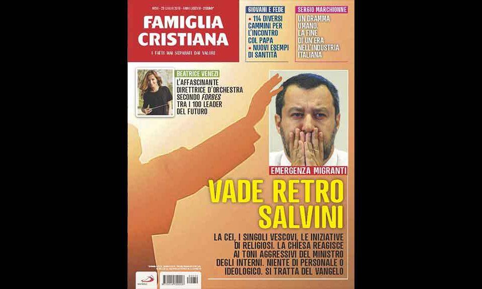 Salvini, anche Avvenire contro il ministro: