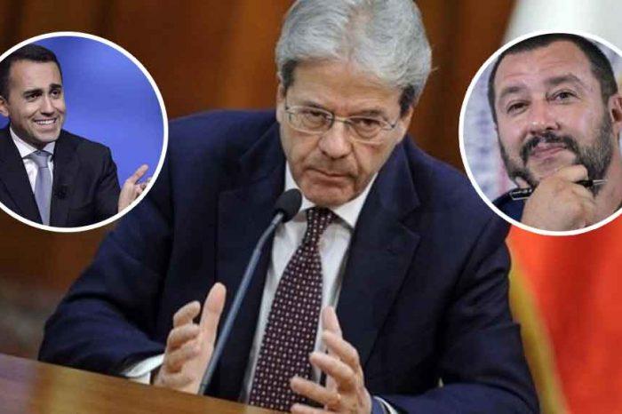 Governo, Gentiloni: 'Fermiamo Di Maio e Salvini, il peggio deve ancora arrivare'