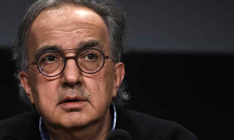 Sergio Marchionne: malattia durava da un anno, respirava a fatica