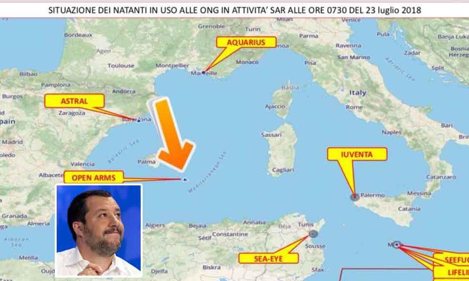Open Arms, non denunceremo l'Italia