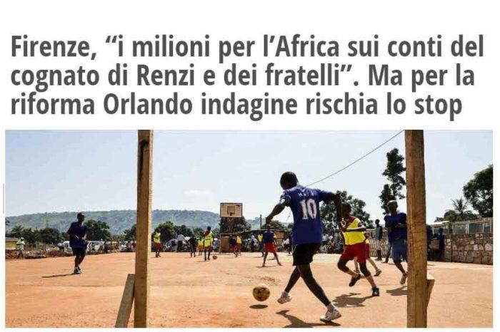 Cognato di Renzi e fratelli, Il Fatto Quotidiano: 'L'indagine rischia lo stop'
