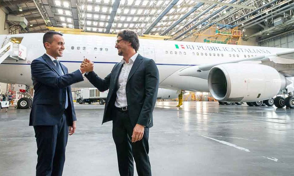 Air Force Renzi, la Difesa rescinde il contratto di leasing con Etihad