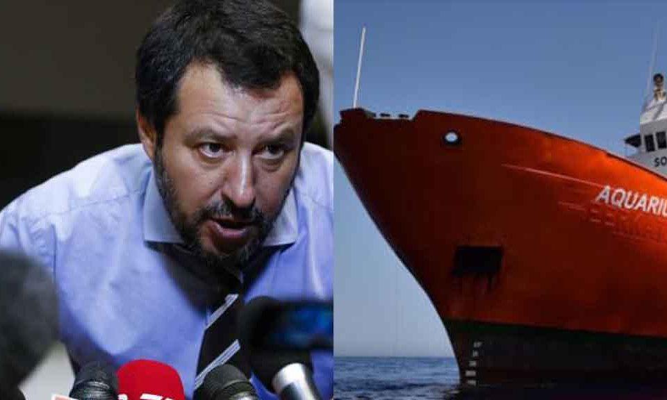 Tutte le inesattezze di Salvini e Toninelli sul caso Aquarius