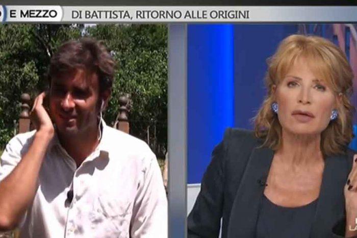 Di Battista a Otto e Mezzo: 'I giornali hanno mangiato con Autostrade e provano a delegittimare il governo'