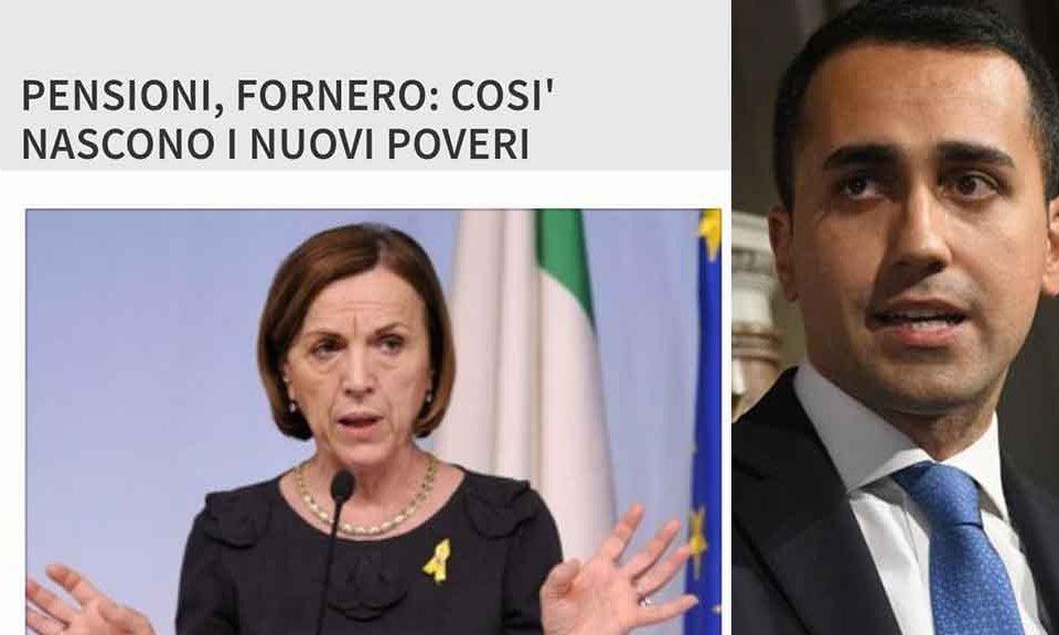 Legge Fornero, Tria: