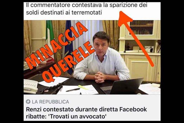 Renzi minaccia querela in diretta, Castaldo (M5S): 'Critiche spesso arrivano da cittadini delusi e amareggiati'