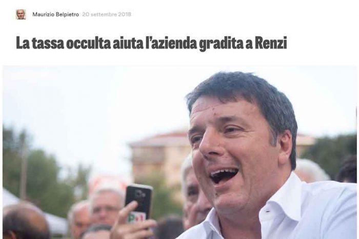 Sacchetti ecologici, Belpietro: 'La tassa occulta aiuta l'azienda gradita a Renzi'