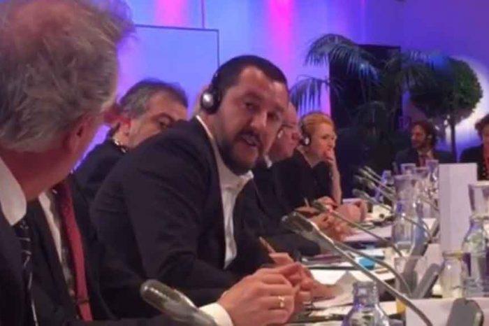 Migranti, litigio tra Salvini e il ministro del Lussemburgo Jean Asselborn