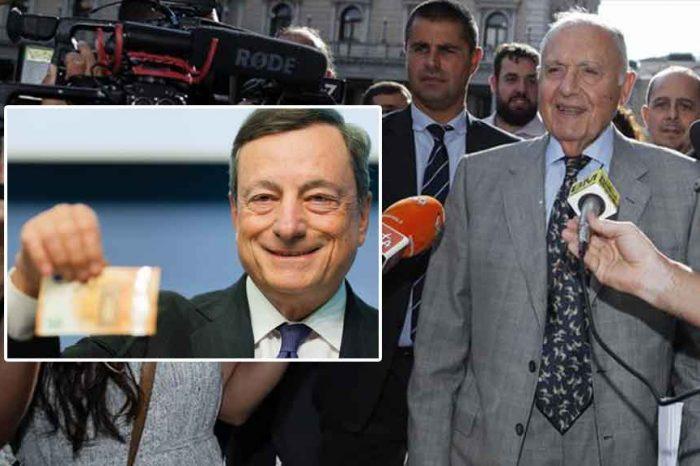 Bce, Savona contro Draghi: 'Si è dato poteri non previsti dallo Statuto'