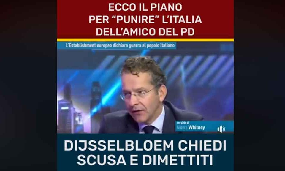 Il video di Dijsselbloem tra fake news e discutibili verità