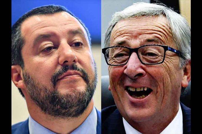 Salvini contro Juncker: 'Pensi al suo paradiso fiscale e la smetta di insultare gli Italiani'