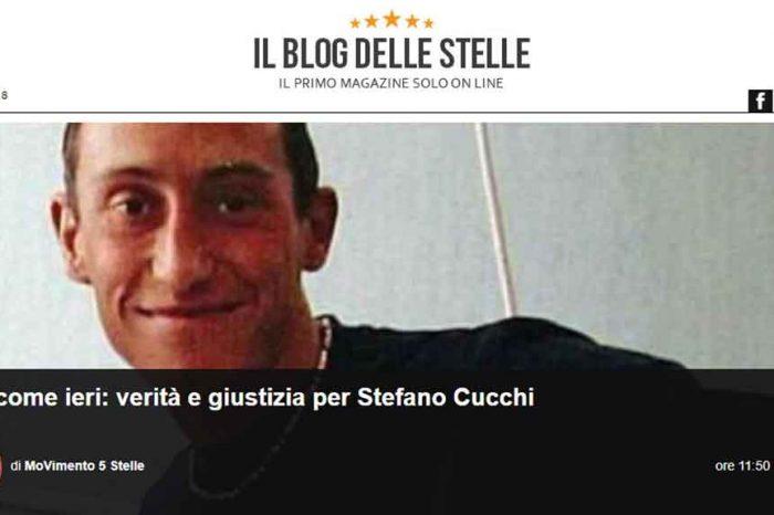 M5S, caso Cucchi: 'Blog delle stelle fra i primi a dare voce ai familiari, chiediamo verità e giustizia'