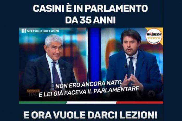 Stasera Italia, Buffagni VS Casini: 'Sono in politica da 35 anni e ora si scoprono tutti luminari'
