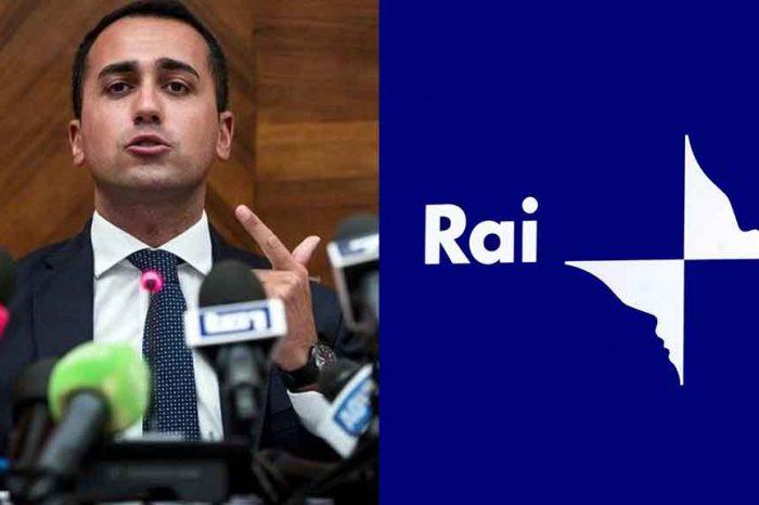 Di Maio: 'Siamo l'unico governo che si ricordi che in Rai è presente la metà del tempo dell'opposizione'
