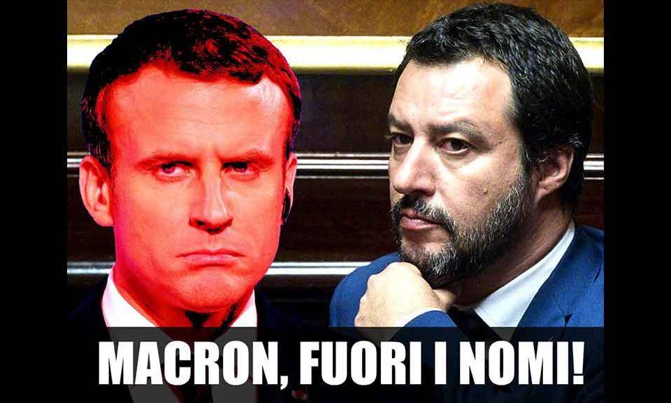 Claviere, Salvini contro Macron: 'Vergogna internazionale: l'Italia non accetta scuse'