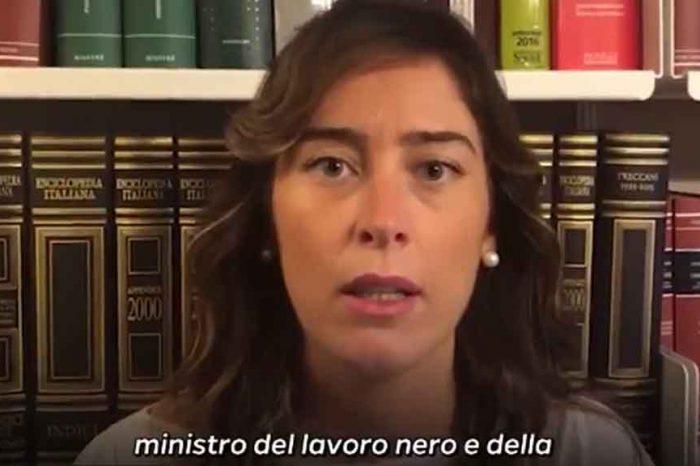 Doveva sparire dalla politica, ora Maria Etruria Boschi attacca Di Maio: 'Ministro del Lavoro nero'