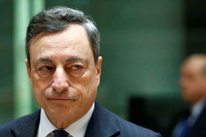Mario Draghi: 'Tornare alle monete pre-euro? Mi viene da ridere'