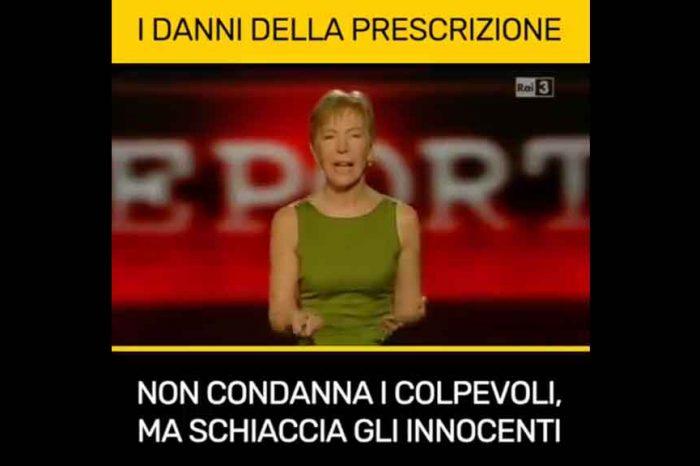 Il M5S rilancia il servizio di Gabanelli sulla prescrizione: 'Non condanna i colpevoli, ma schiaccia gli innocenti'