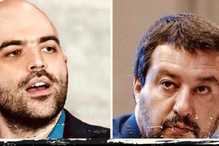 Saviano cerca la querela di Salvini per poi fare la vittima?