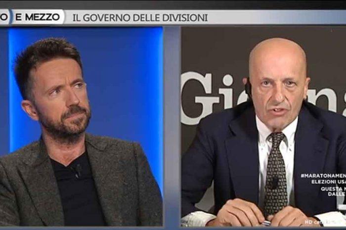 Scanzi: 'Sallusti è terrorizzato, lo spazzacorrotti è uno schiaffo in faccia al centrodestra, a Berlusconi e a Forza Italia'