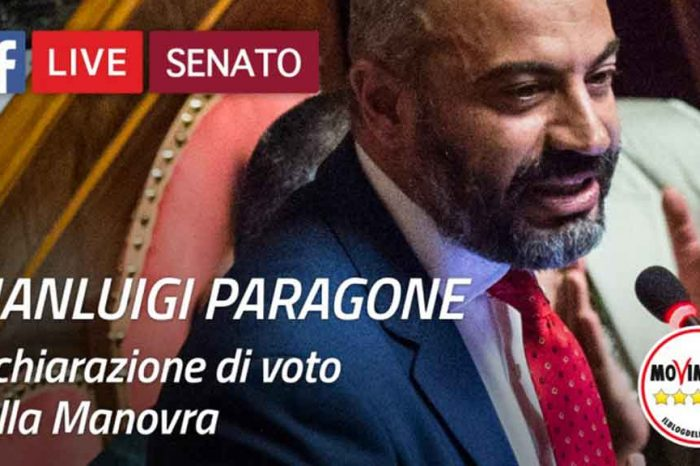 Paragone: 'Questa è una manovra made in Italy, scritta in Italia, non in Europa'
