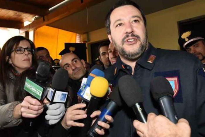 Salvini: Libero mi dà del mentecatto, vuol dire che stiamo lavorando bene e leggerò un altro giornale'