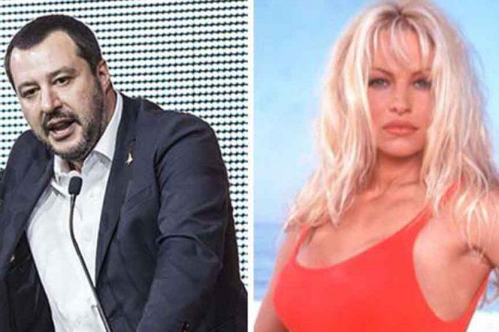 Pamela Anderson contro Salvini: 'Non è lui la soluzione per la crisi, Italia mi ricorda anni '30'. La replica: 'Lei non ci sarà'
