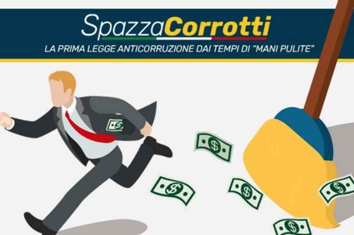M5S: 'Con la Spazzacorrotti finalmente trasparenza sui finanziamenti ai partiti!'