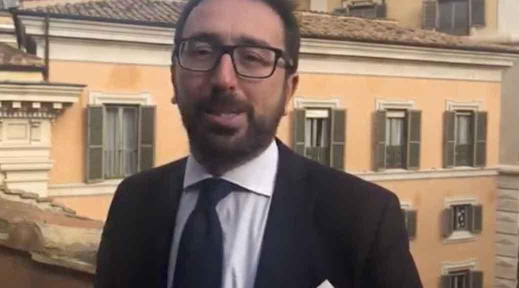 Spazzacorrotti, il ministro della Giustizia Bonafede: 'La legge del M5S fa scuola in Europa'