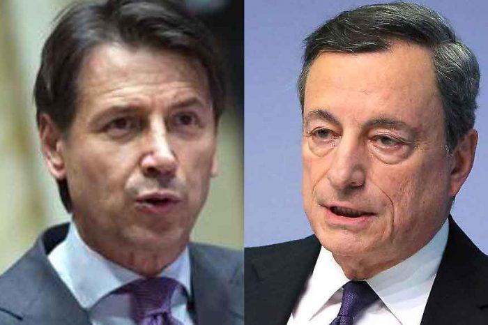 La classe media tranciata, le famiglie in povertà si moltiplicano, ma Draghi, tra i primi responsabili dello sfascio italiano, se la prende con il Governo Conte