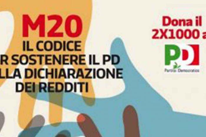 Donazioni del 2×1000 ai partiti: 14 milioni raccolti, la metà va al Pd. Il M5S rifiuta i finanziamenti