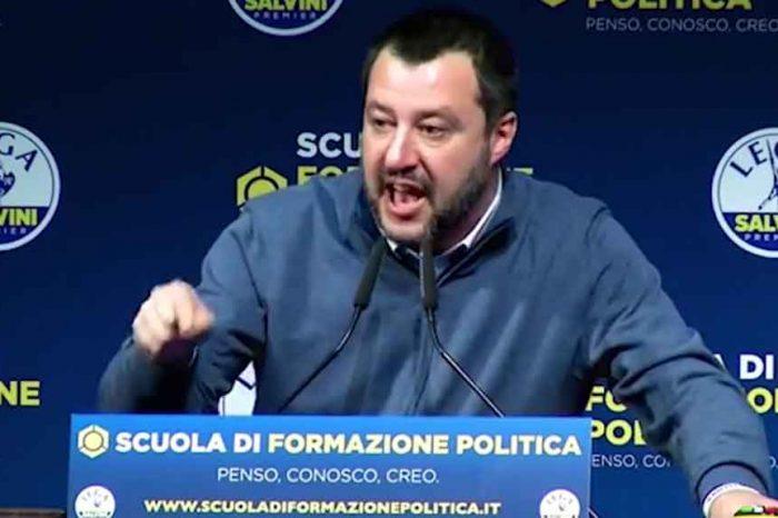 Salvini: 'Battisti deve marcire in galera fino alla fine dei suoi giorni e chi lo ha difeso ha la coscienza sporca come lui'