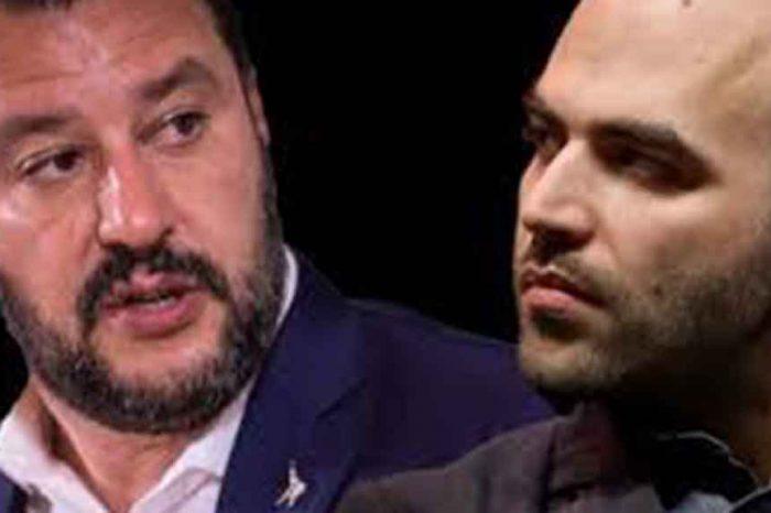 Roberto Saviano a Salvini: 'Indossare l'uniforme significa mandare messaggi pericolosi per la democrazia'