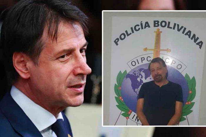 Conte: 'Un nostro aereo atterrerà verso le ore 17 in Bolivia per prendere in consegna Battisti e riportarlo in Italia'