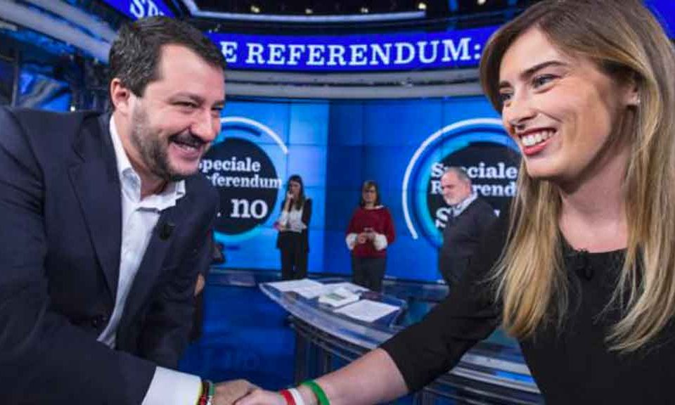 Salvini alla cena con i renziani: