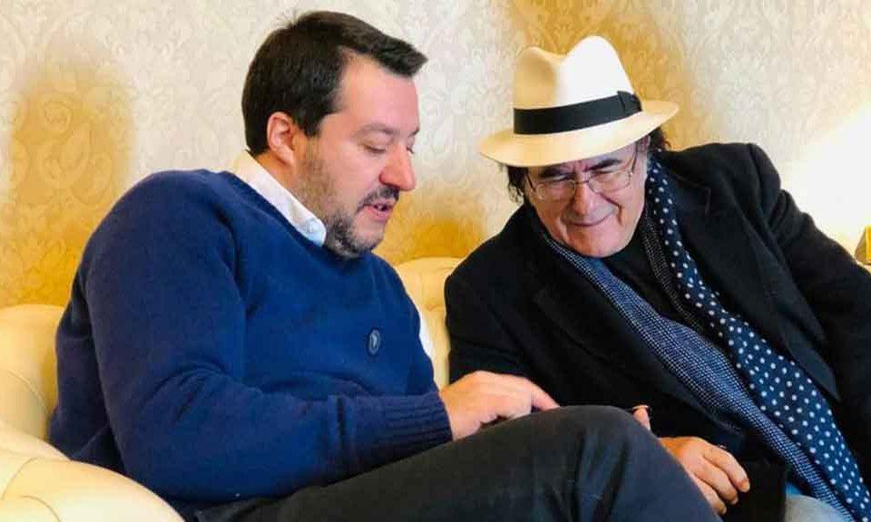 Al Bano si schiera con la Lega: più canzoni italiane in radio