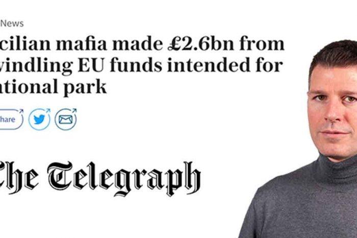 M5S: 'Il Telegraph racconta la nostra battaglia contro i fondi europei alla mafia'