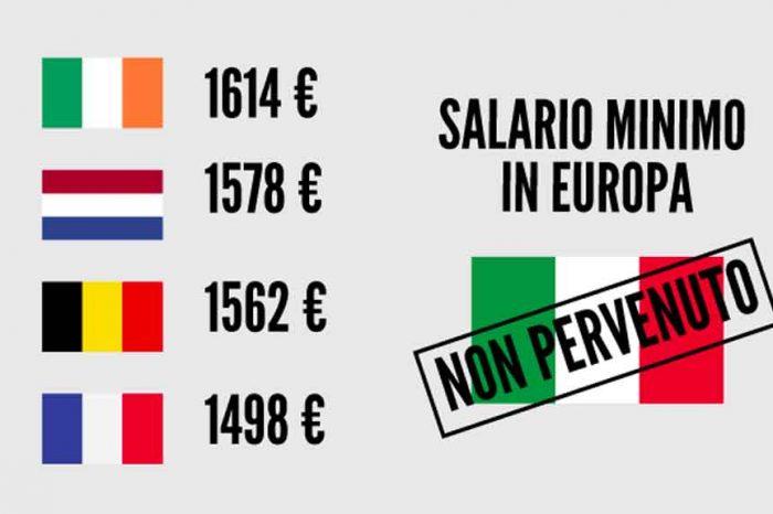 M5S: 'In 22 Paesi europei il salario minimo è legge: perché Confindustria e Sindacati sono contro?'
