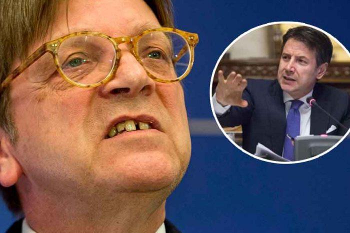 M5S: 'Verhofstadt chieda scusa agli italiani e al presidente Conte'