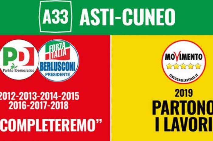 Asti-Cuneo, M5S: «Con lo Sblocca Cantieri l'Italia torna al lavoro»