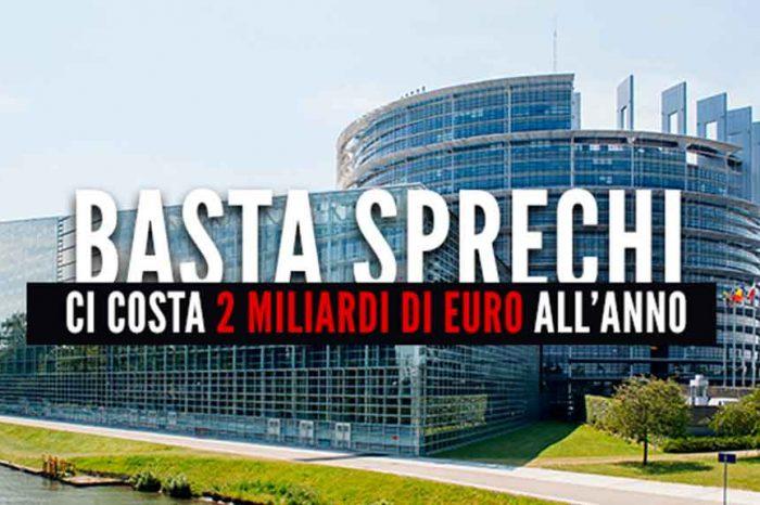 M5S: «Tagliamo sprechi e privilegi del Parlamento europeo per sfondare il muro dei 2 miliardi»