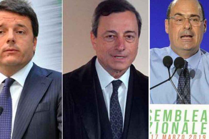 Zingaretti: 'Qui dobbiamo cambiare tutto'. Affermazione tipica di chi non cambierà nulla. Infatti sarà un lifting di Renzi per preparare l'entrata in grande stile di Draghi