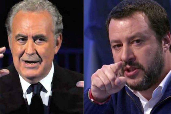 Santoro contro Salvini: «Mi vergogno di averlo come Ministro dell'Interno. Arrestate lui»