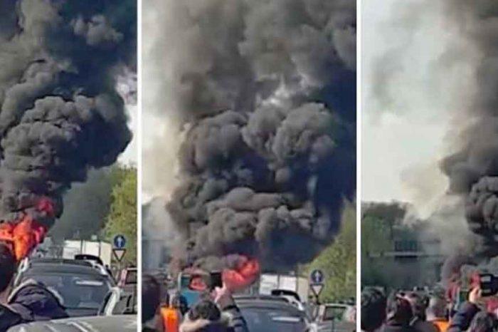 Milano, sequestra scuolabus e gli dà fuoco. Salvini: 'Voglio vederci chiaro'