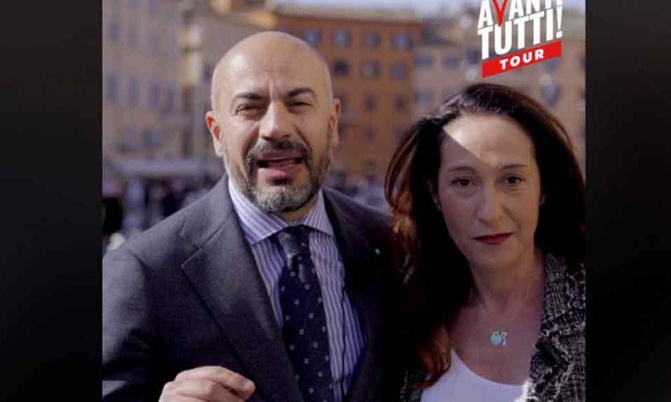 Paola-Taverna-e-Gianluigi-Paragone
