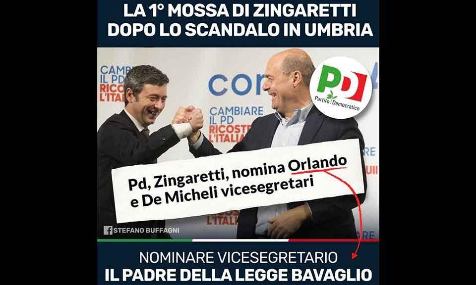 Zingaretti-Orlando