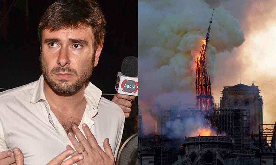 Alessandro Di Battista, donazioni a Notre Dame: