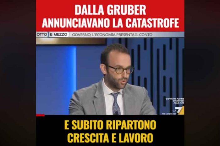 M5S: 'Mesi di balle e di catastrofismo economico da parte di TV e giornaloni si sono scontrati contro i dati dell'Istat'