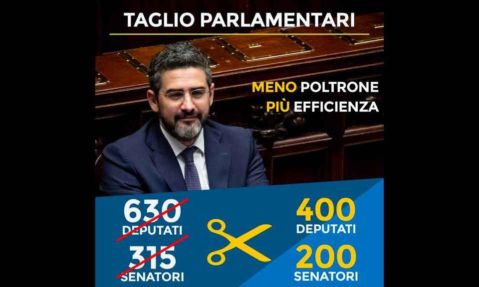 Taglio numero parlamentari fraccaro il parlamento for Numero deputati